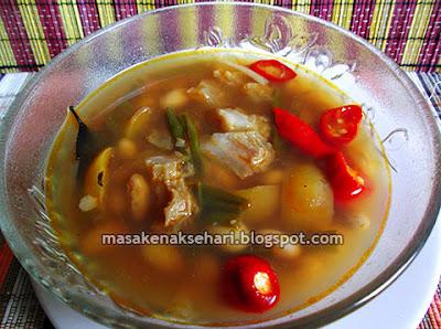 Cara Membuat Sayur Kacang Merah Tetelan Resep Ala Sunda