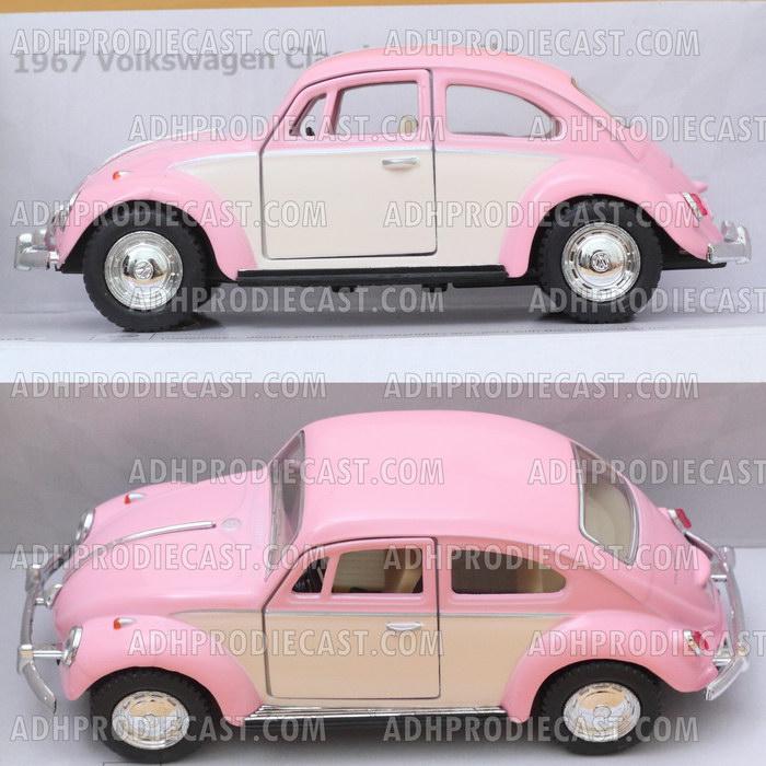 Miniatur Mobil VW Beetle / Kodok Two Colors