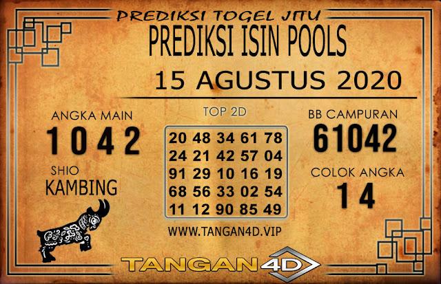 PREDIKSI TOGEL ISIN TANGAN4D 14 AGUSTUS 2020