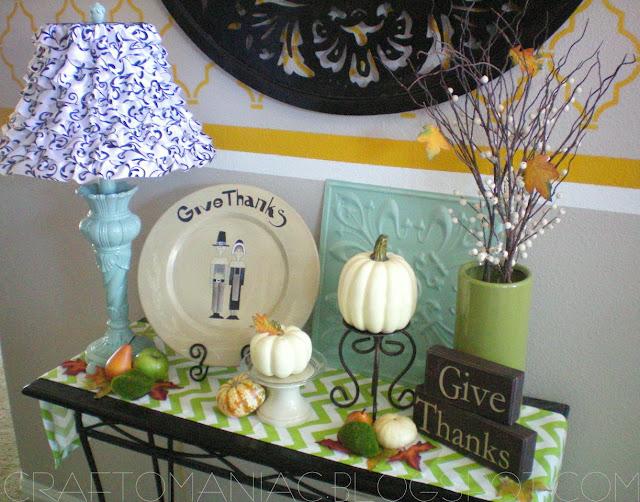 Home Decor Festive For Thanksgiving Craft O Maniac