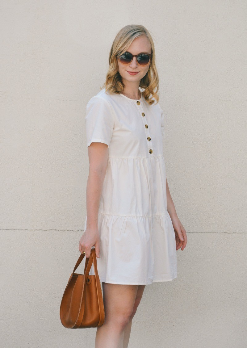 A Tiered Mini Dress for Summer | Organized Mess