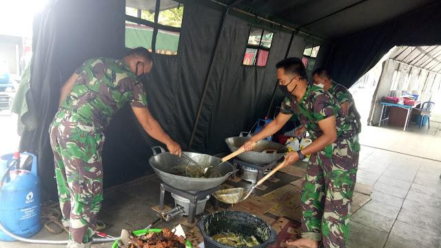KodimKaranganyar – TNI Jago Perang Juga Jago Memasak