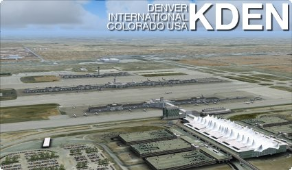 Fsb Kden Denver International Airport From Imaginesim