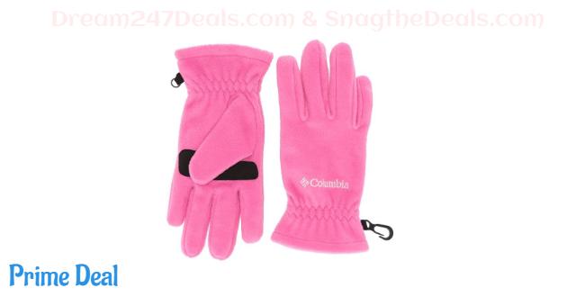 Columbia Unisex Thermarator Glove, Pink Ice, Large