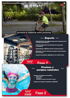 MADRID FASE 2 COVID-19 DEPORTE