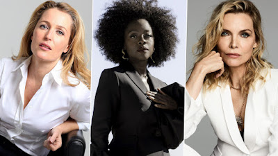 When Three ItsNotYouItsMe Media Inspirations Collide: Star Of Sex Education, Gillian Anderson Joins Viola Davis & Michelle Pfeiffer For Showtime's 'First Lady'!