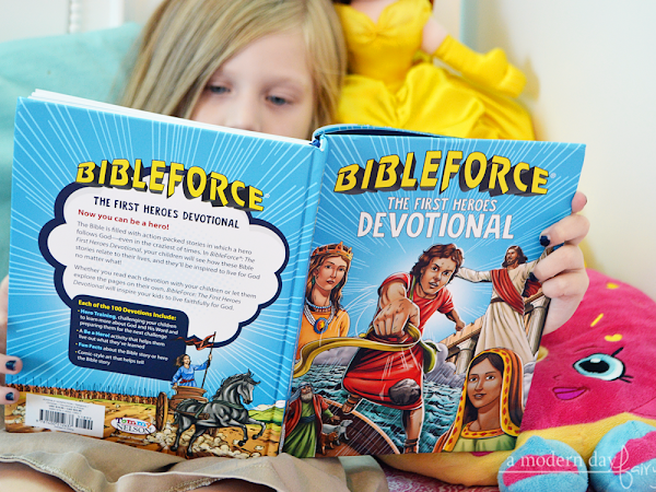 BibleForce The First Heroes Devotional {A Book Review + Giveaway} #BibleForce