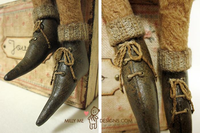 fabric prim shoes