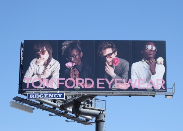 Tom Ford Eyewear Spring 2017 billboard