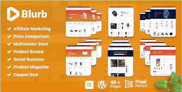 affiliate marketing wordpress theme for auto functional price comparison, review, coupon and market place categories based auto comparison option.
