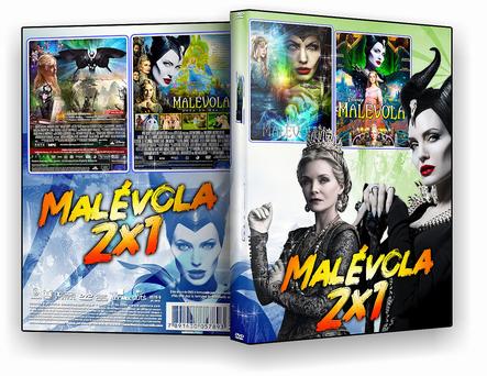 DVD Coleção Malévola 2 em 1 - ISO