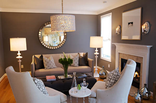 Tư vấn cách lựa chọn đèn trang trí phòng khách nhỏ