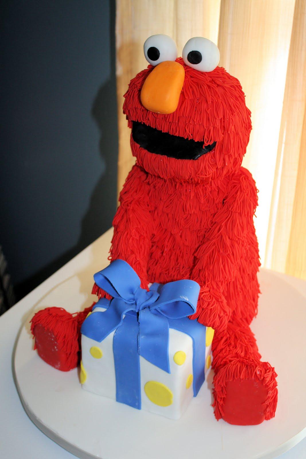 Sweet Eats Cakes Elmo First Birthday Cake