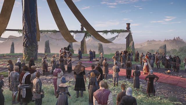 Coronación Análisis de Assassins Creed Valhalla La ira de los Druidas para PS5