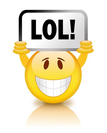 LOL Smiley Faces Emoticons