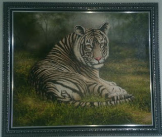 """Lonely Tiger"", karya Juned"