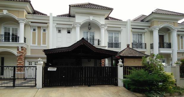 Rumah yang ditinggal Rohadi di The Royal Residence, Pulo Gebang, Jakarta Timur