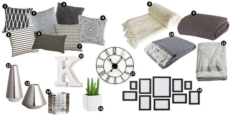 clothes and stuff Home wishlist pintrest grey black and white house design interior inspo