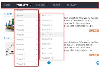 membuat navigasi menu responsive di blog