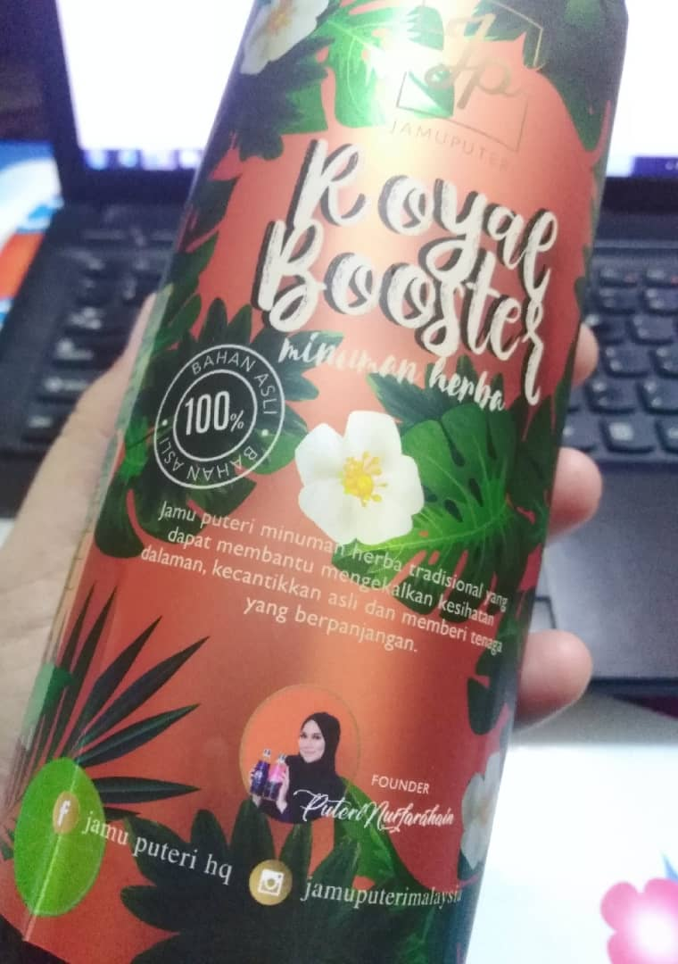 royal booster jamu puteri