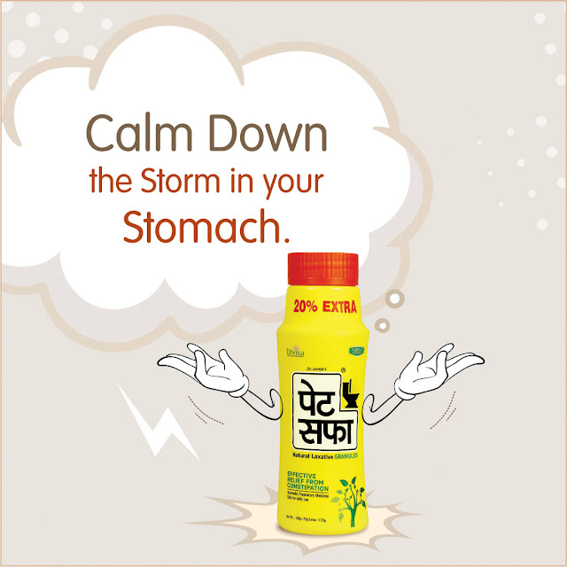 Pet Saffa helps to calm down acidic storms in your Stomach