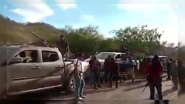 Se agrupan cientos de Sicarios de Cárteles Unidos en Tepalcatepec, El CJN ya tiene en su poder sus alrededores , los primeros preparan la defensa y los segundos arrebatarles el control