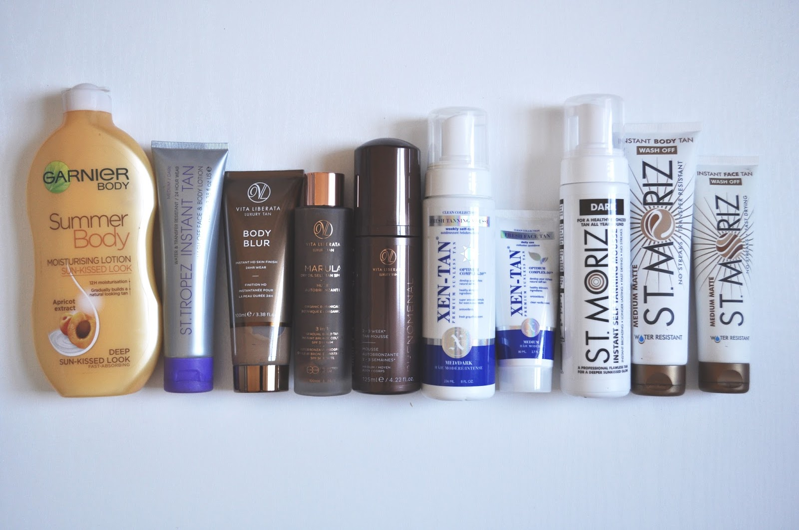 Fake tan comparison which fake tan brand is best