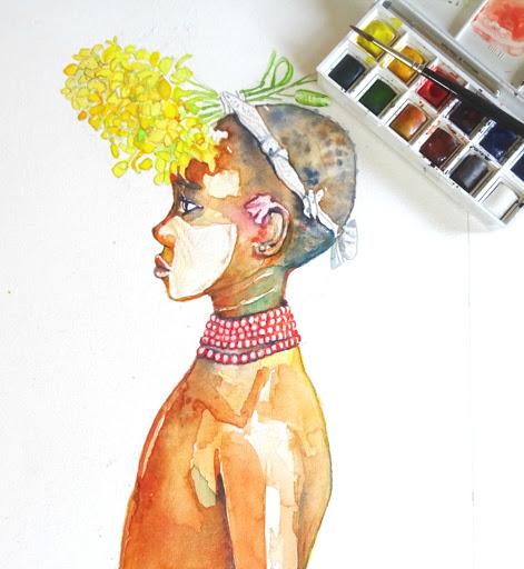 Afrikaans jongetje