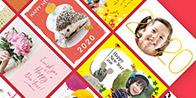 多彩なテンプレートで作るポストカード TOLOT Card