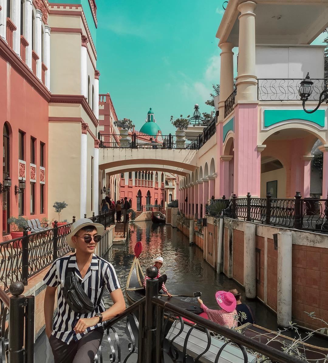 Harga Tiket Masuk Little Venice Kota Bunga November 8 - Wisata Oke