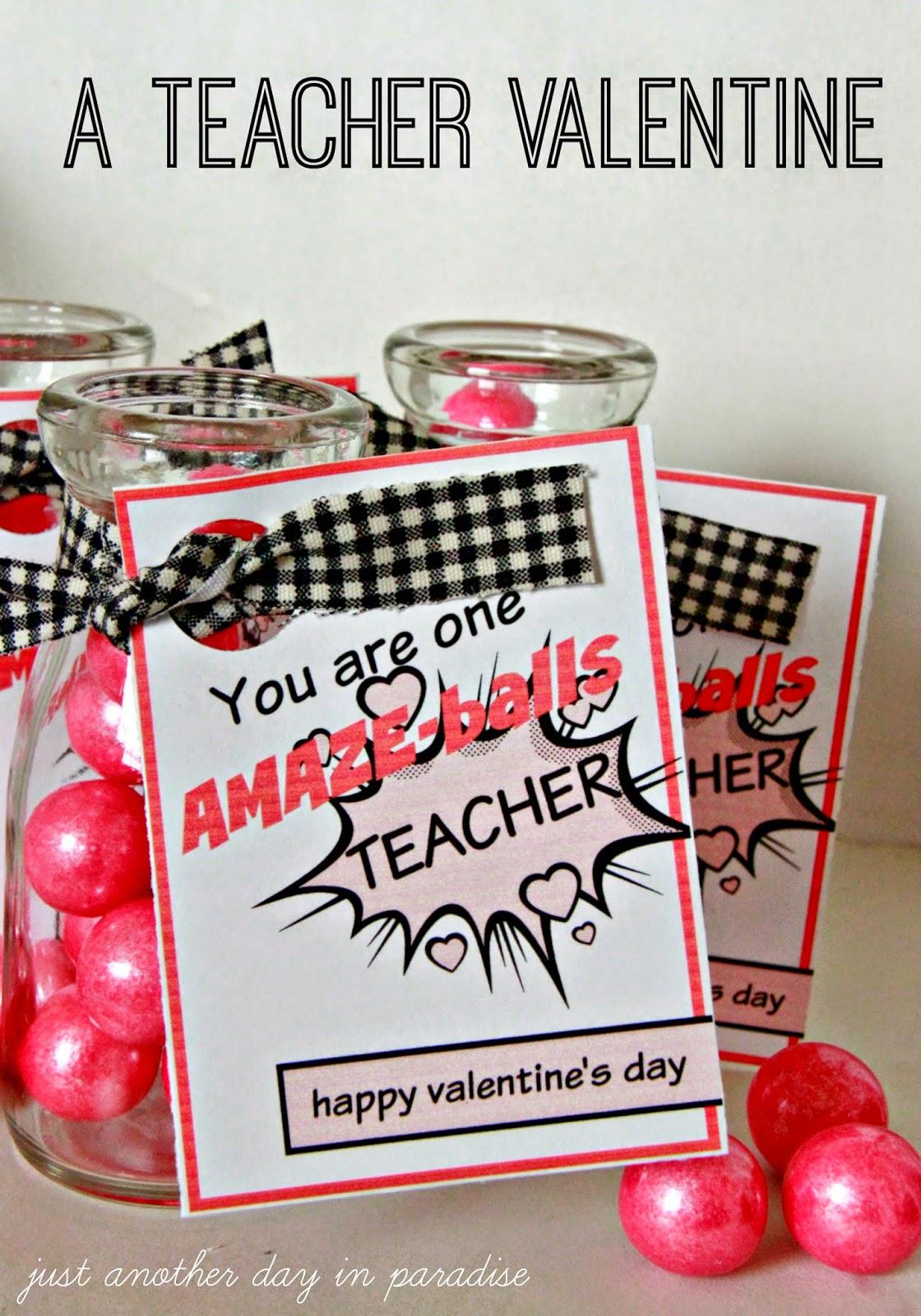 Larissa Another Day Amaze Balls Teacher Valentine