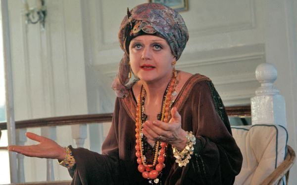 Angela Lansbury as Salome Otterbourne in Death on the Nile