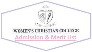 WCC Kolkata Merit List
