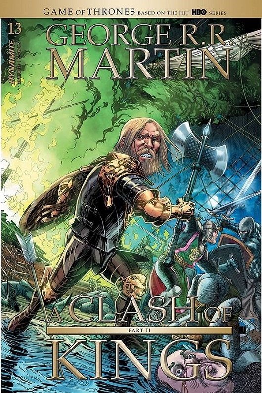Cover of George RR Martin: A Clash of Kings #13