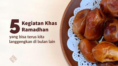 Lima amalan Ramadhan