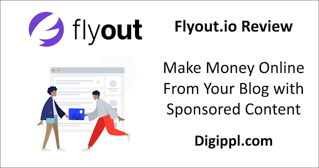 flyout.io review sponsored content for blogger