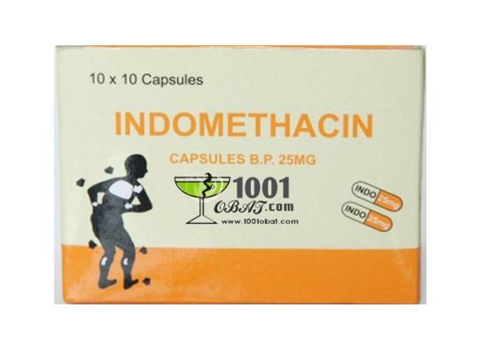 Indometasin Indomethacin Obat Apa Fungsi Manfaat Dosis Efek Samping