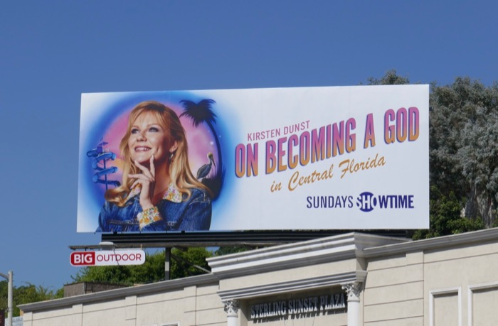 On Becoming a God in Central Florida billboard