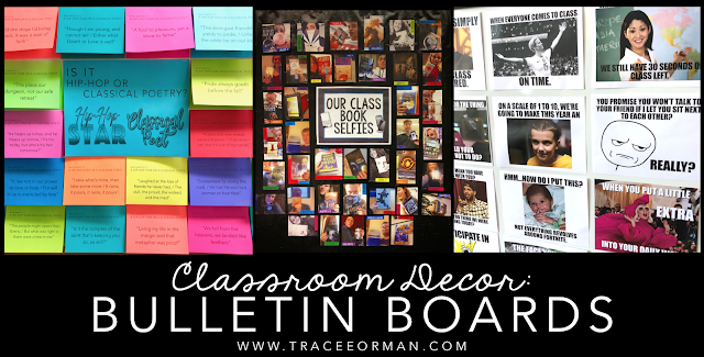 Bulletin boards for the secondary classroom