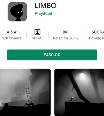 Limbo-2Gb offline games