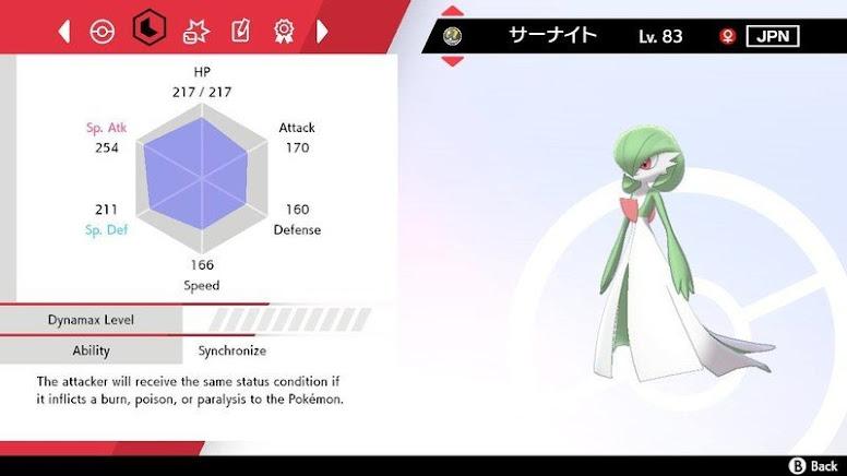 Habilidade Synchronise Pokémon