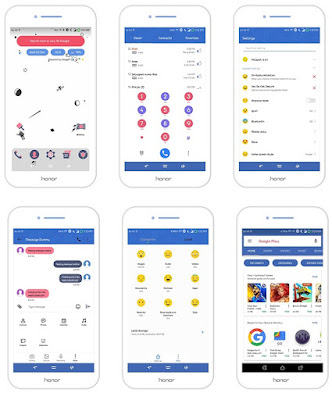 Facebook Theme For Huawei EMUI