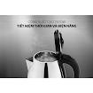 Ấm Siêu Tốc Inox SUNHOUSE HAPPY TIME HTD1055 (1.5L) - Hàng Chính Hãng