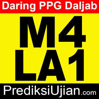 Jawaban PPG Daljab M4 LA1