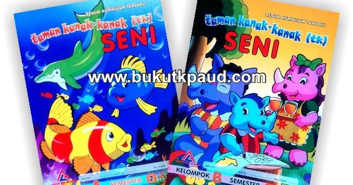 "Buku Paket TK ""SENI"" Semester 2"