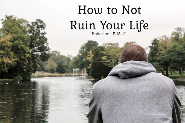 How to Not Ruin Your Life