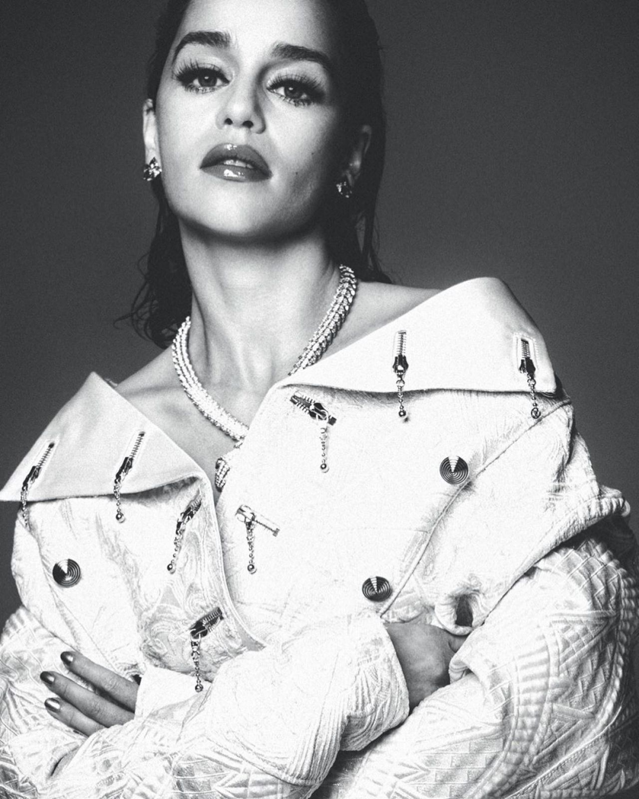 Emilia Clarke – Wonderland Magazine The Winter 2019/20 Issue