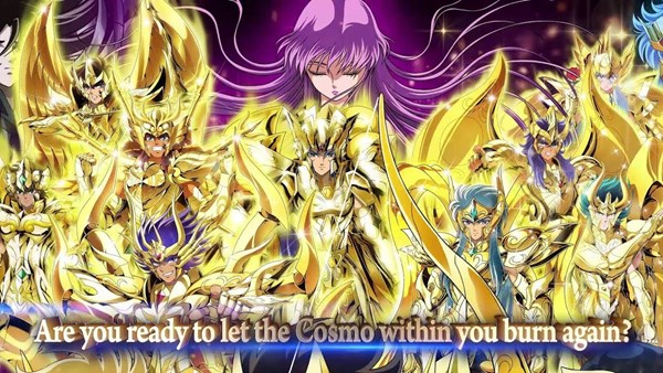 Saint Seiya Cosmo Fantasy é o RPG para celulares de Cavaleiros do Zodíaco