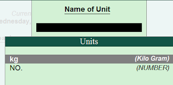 tally unit of measurement list, units in tally erp 9,tally erp 9 unit creation,how to change unit of measure in tally, multi units in tally,unit of measure in tally in hindi,