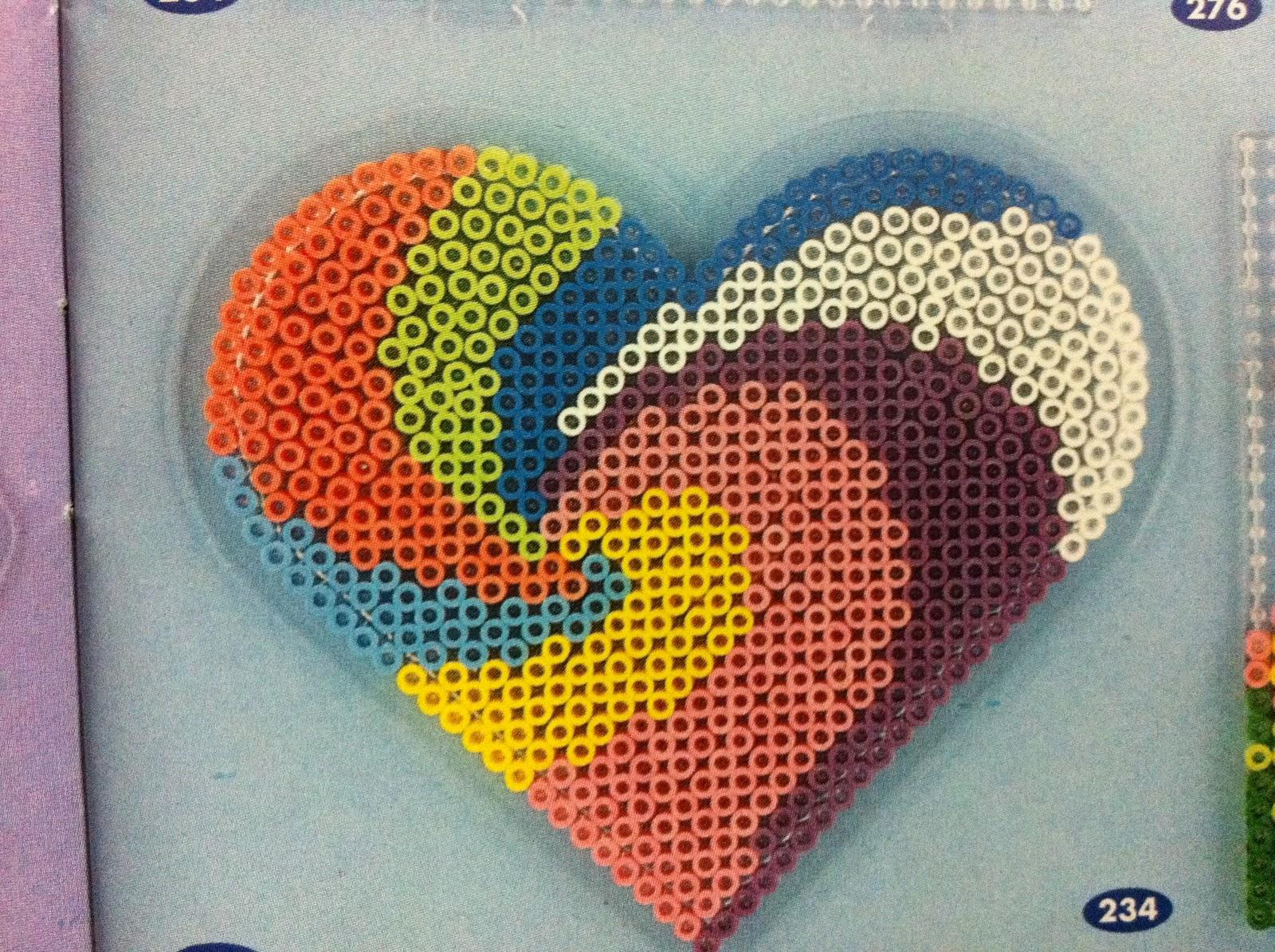 PP Pyssla Ideal Shop: Hama beads design